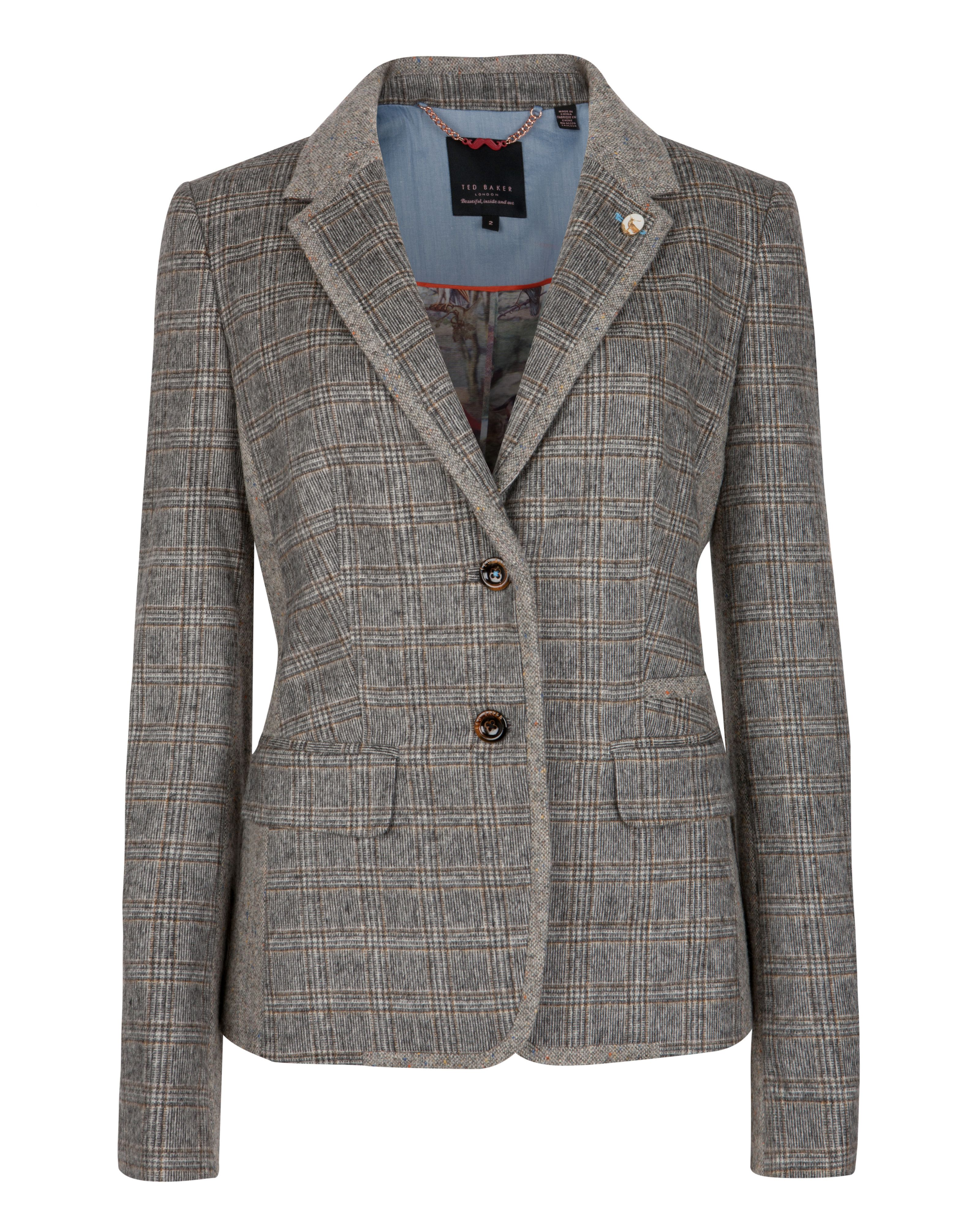 Tylar check jacket