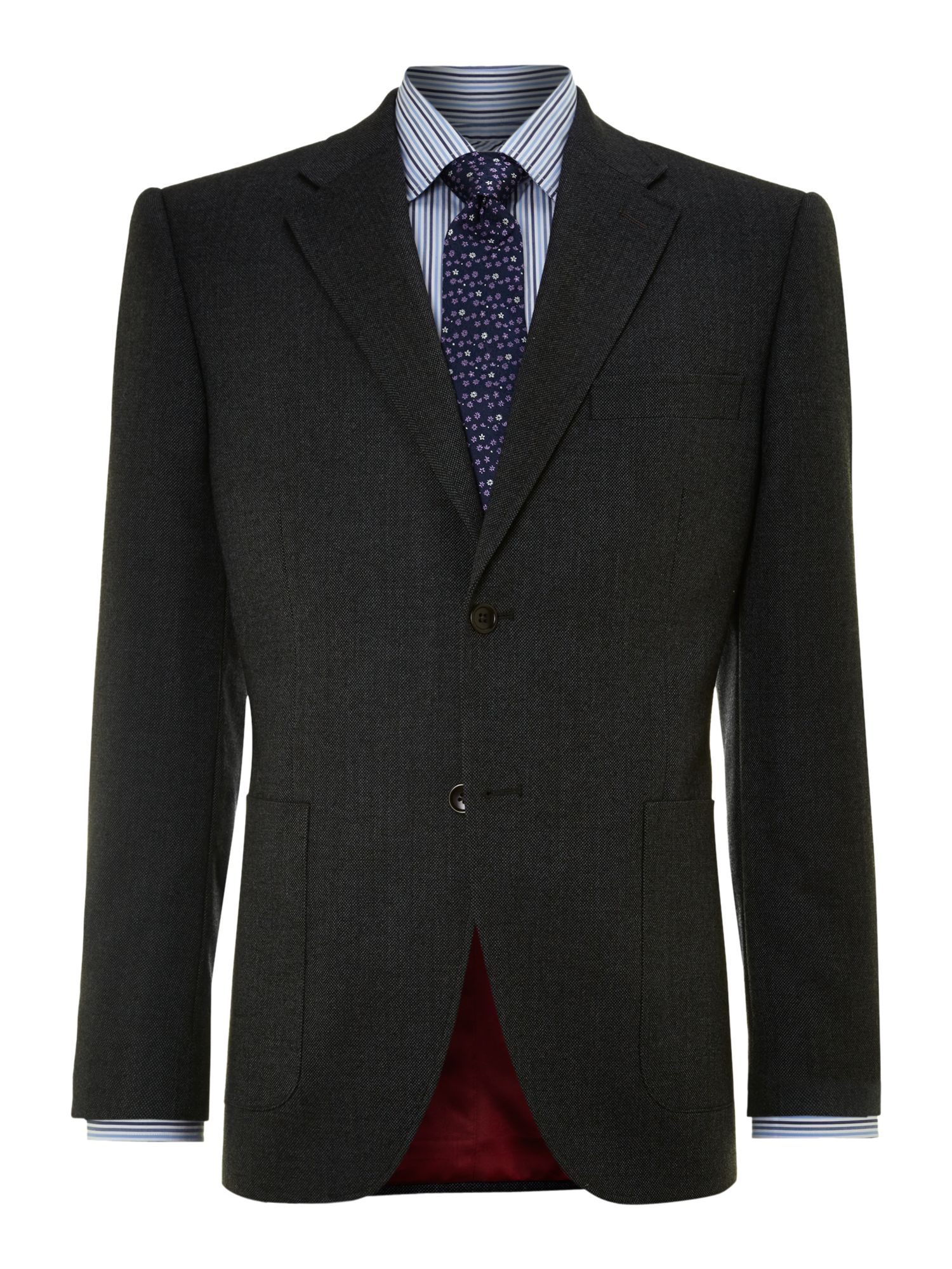 Bancroft Patch Pocket Elbow Patch Blazer