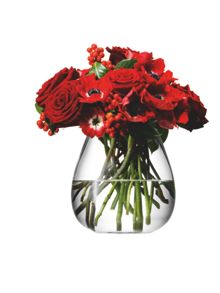 Table bouquet base, clear, 17cm