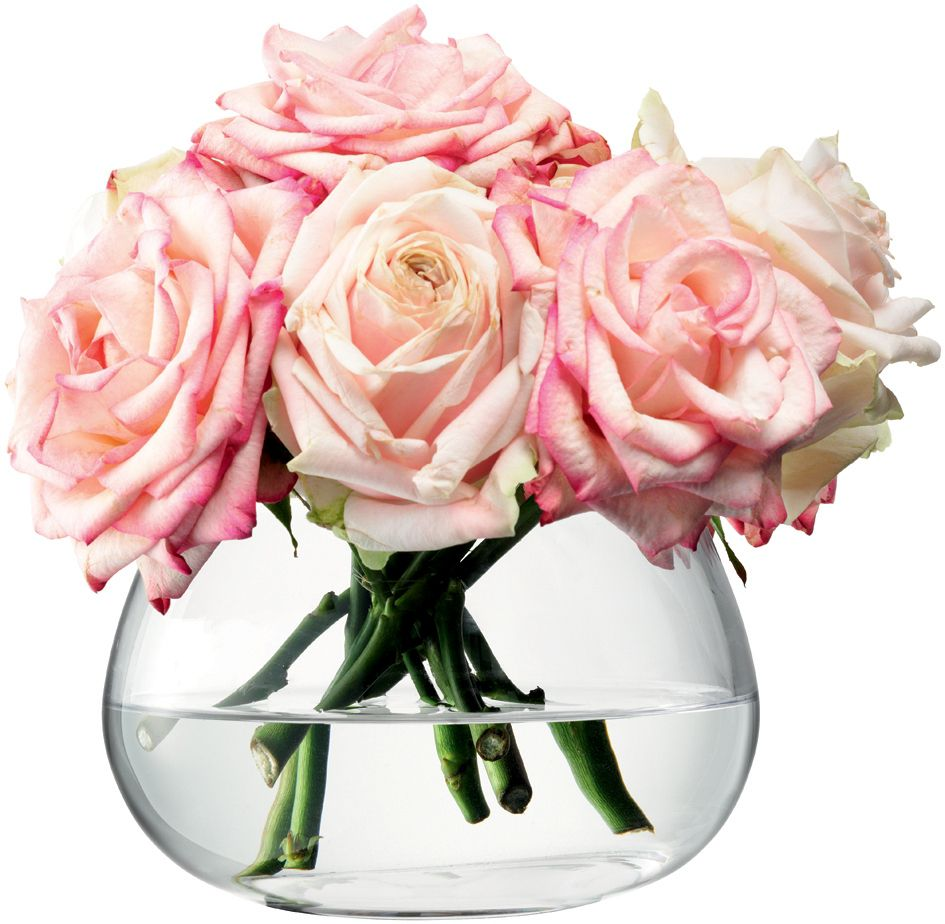 Table arrangement vase, clear, 11.5cm