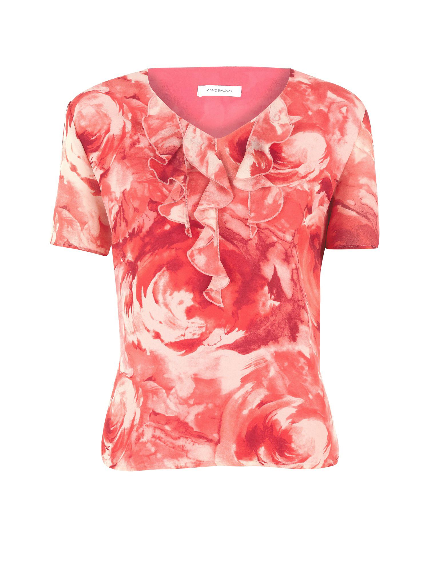 Rose wash blouse