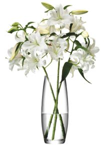 LSA Grand stem vase, clear, 41cm