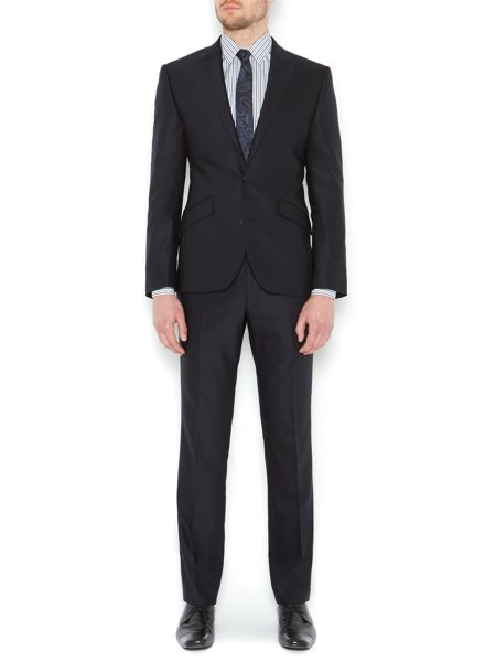 Kenneth Cole Watts Stretch Slim Fit Twill Peak Suit Jacket