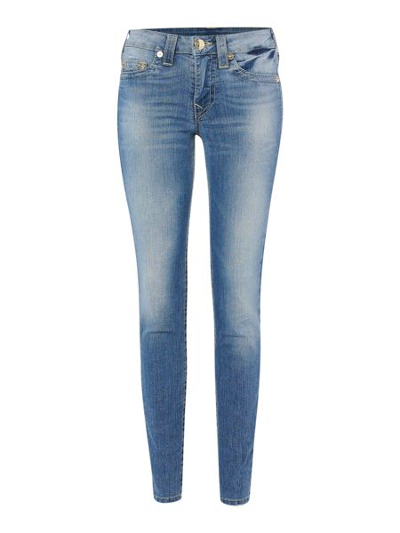 True Religion Halle skinny jeggings with gold plaque