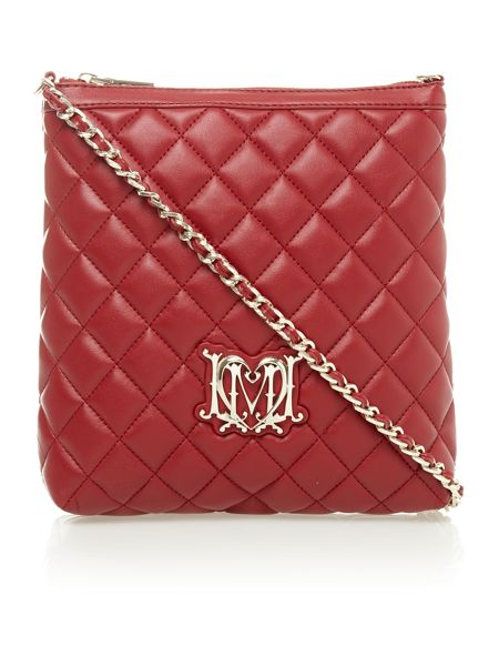 Super quilted mini crossbody bag