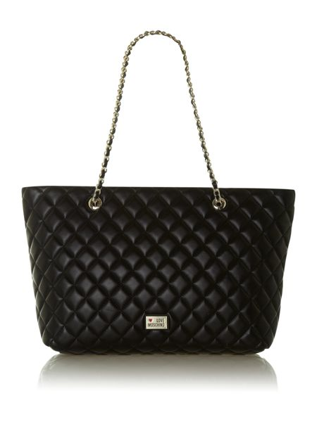 Love Moschino Super quilted shoulder bag