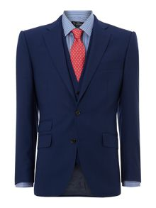 New & Lingwood Thames Panama Peak Ticket Pocket Suit Jacket