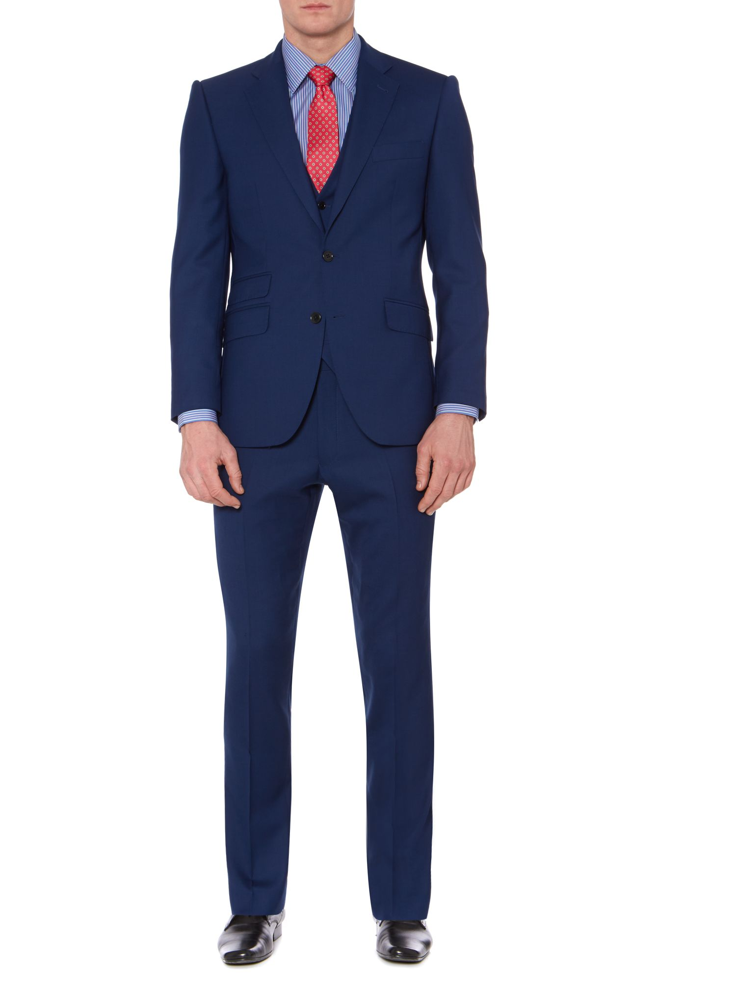 Thames Panama Peak Ticket Pocket Suit Jacket