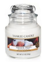 Yankee Candle Fireside treats small jar