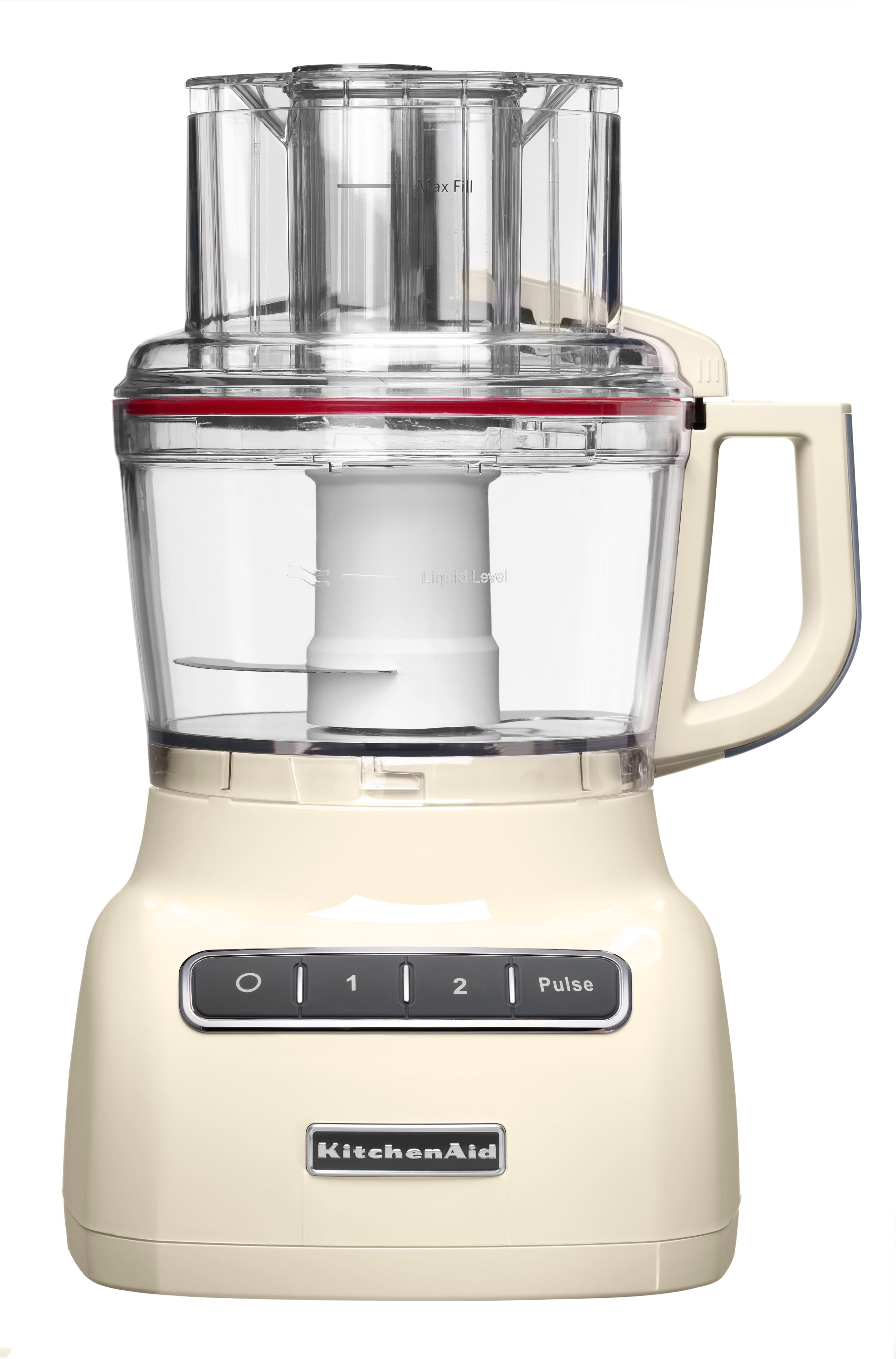 2.1L Kitchenaid almond cream food processor
