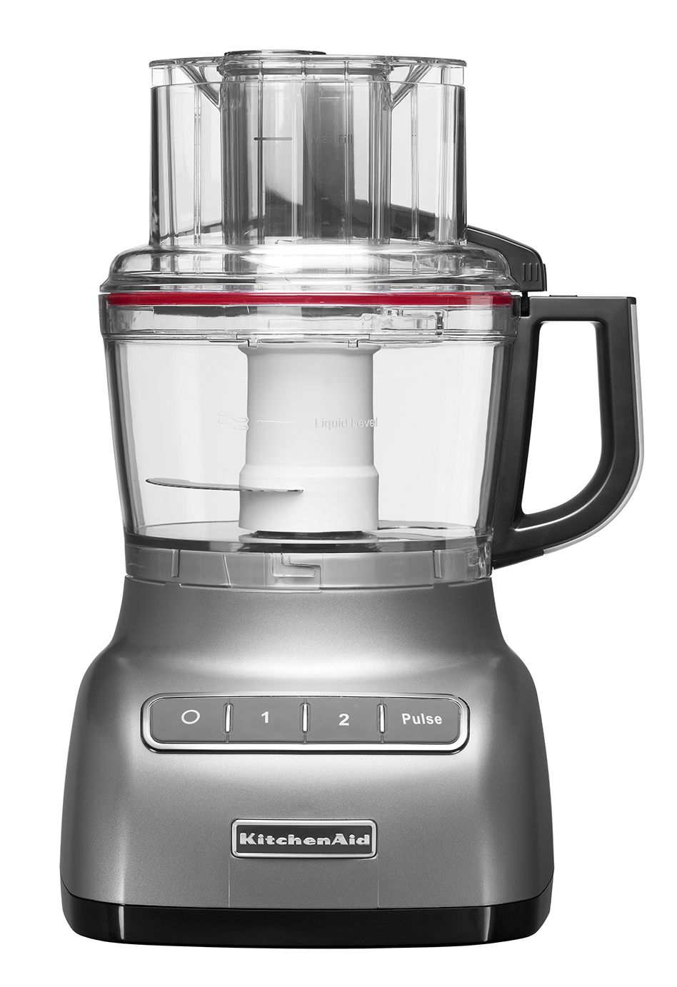 2.1L Kitchenaid Contour silver food processor