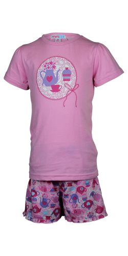 Girl`s cotton pyjama