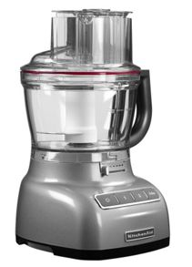 3.1L Kitchenaid Contour silver food processor