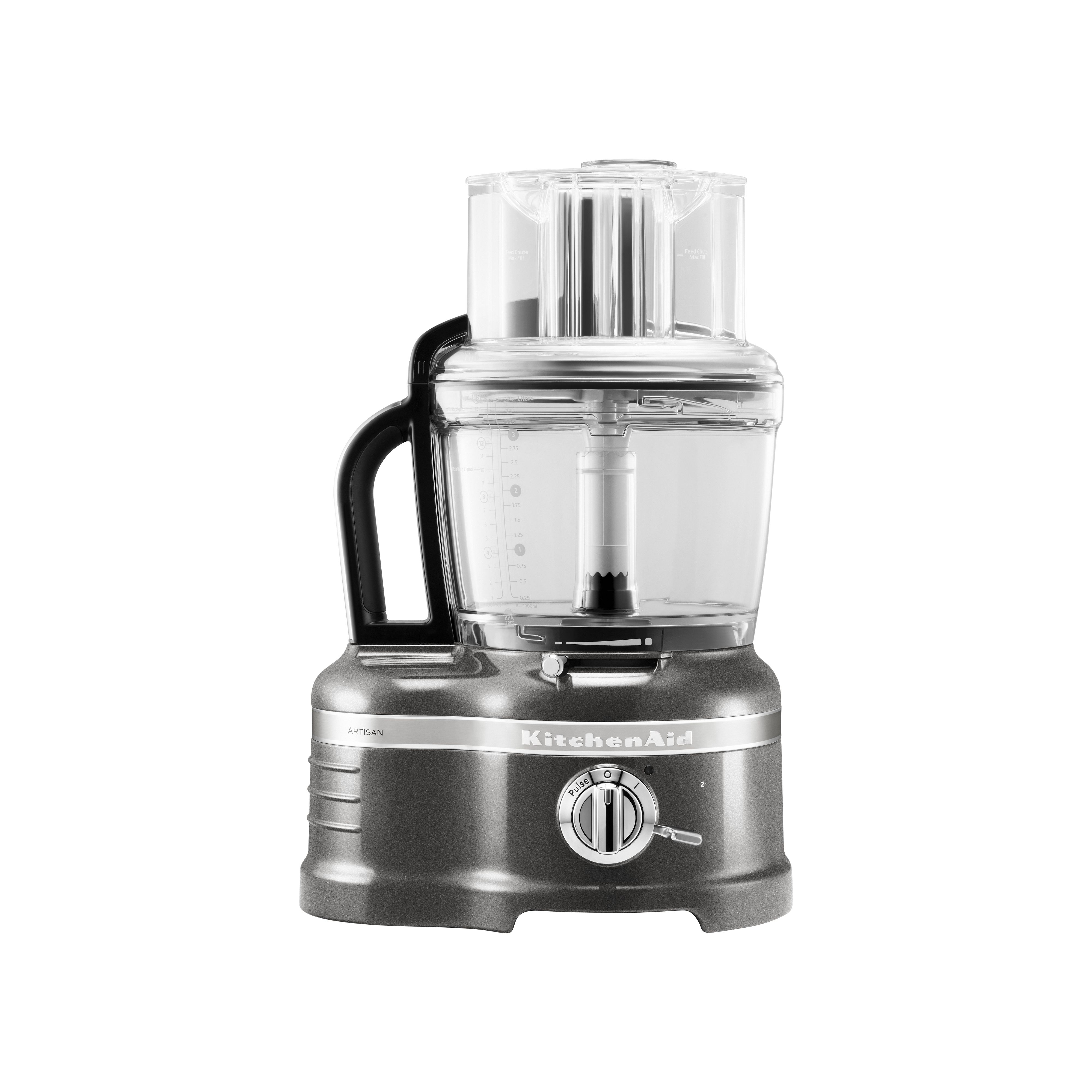 4L Artisan medallion silver food processor
