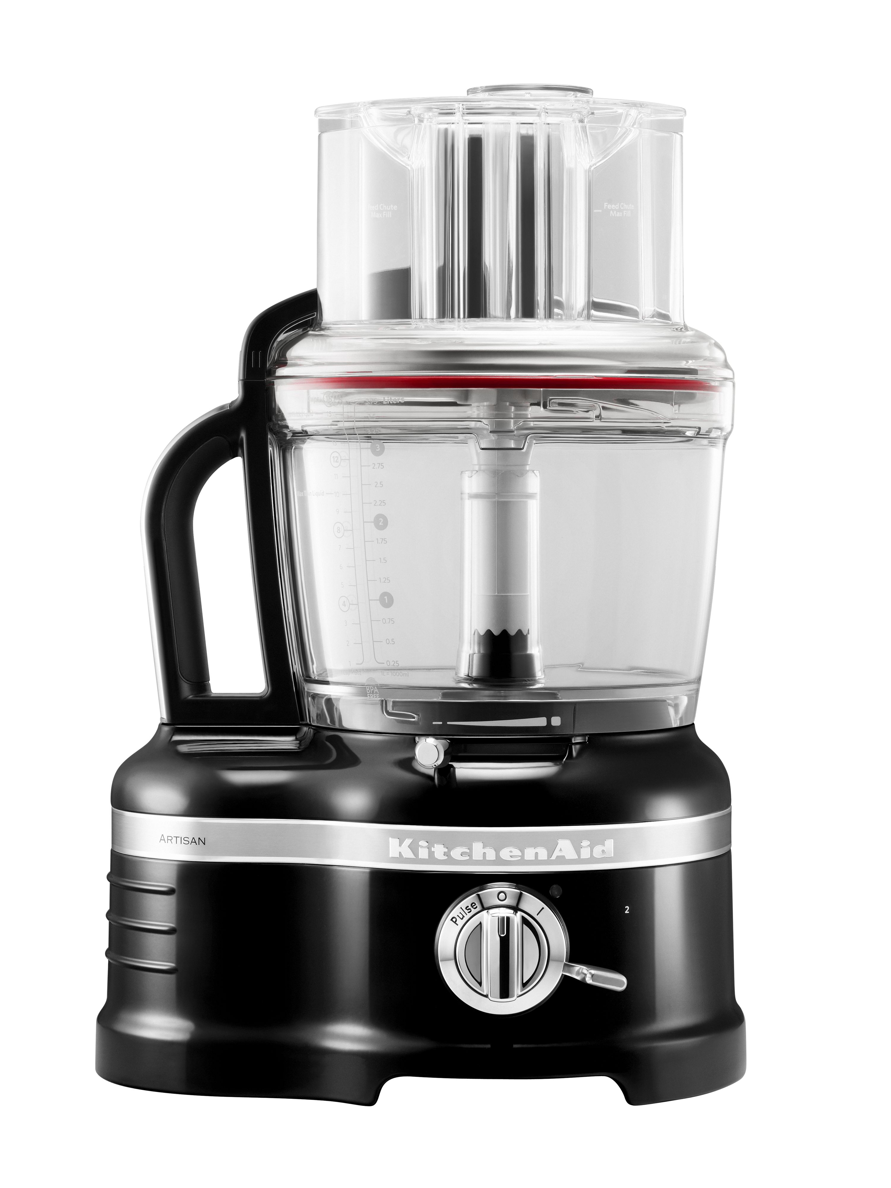 4L Artisan Onyx Black Food Processor