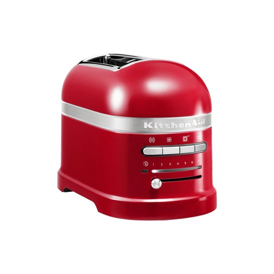 Artisan Empire red 2-Slot toaster