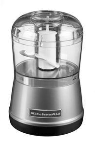 Food Chopper, Contour Silver