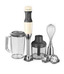 Corded almond cream hand blender
