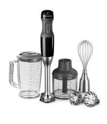 KitchenAid Corded Onyx black hand blender