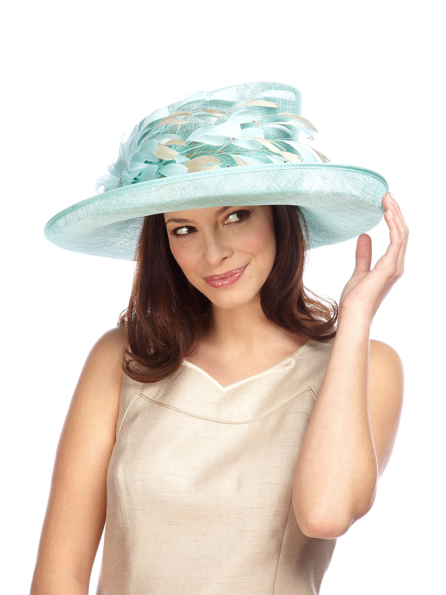 Mint occasion hat