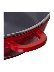 Linea Cast aluminium serving pan with lid, 24cm