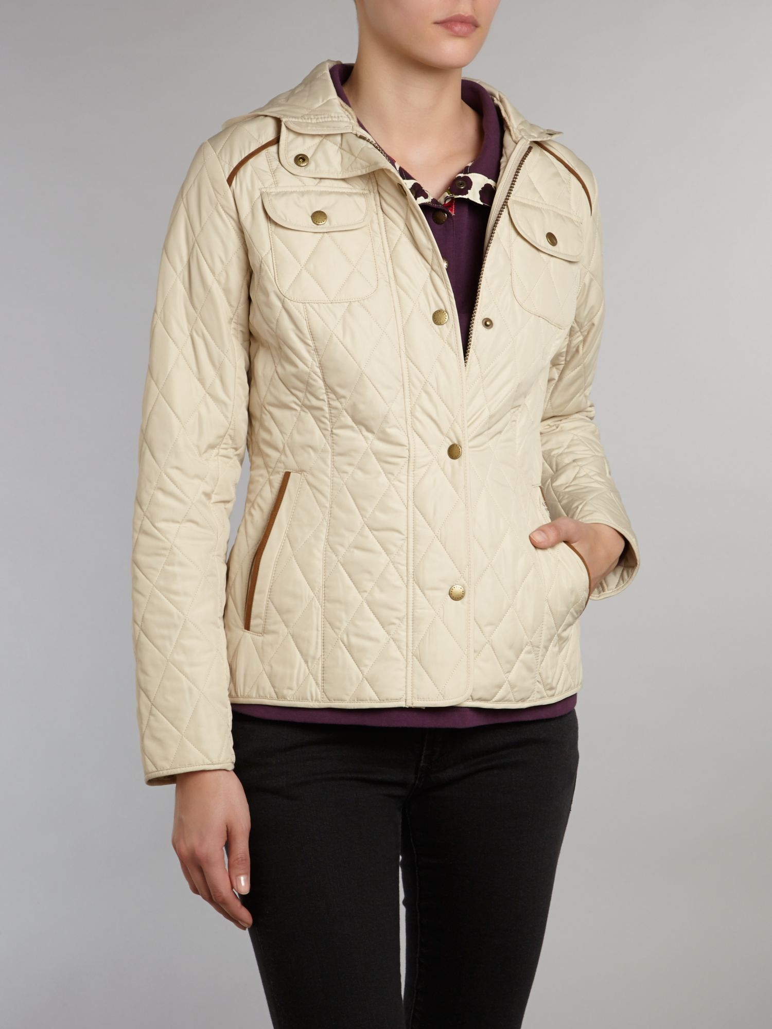 Draycott Quilted Hooded Jacket