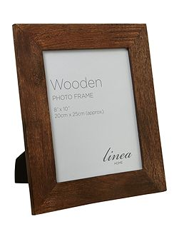 Chunky wooden photo frame 8x10