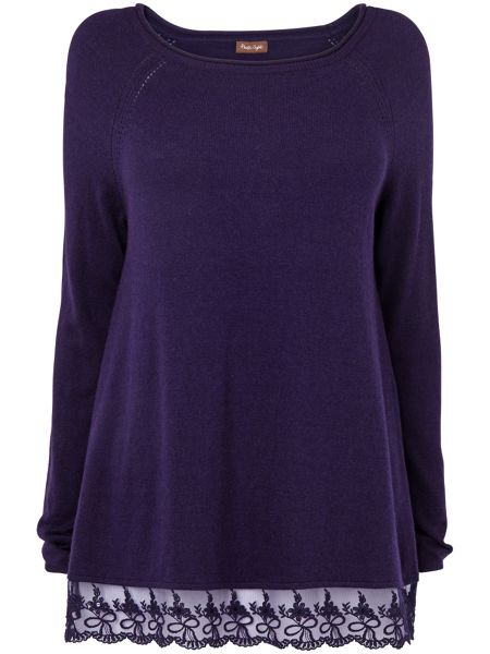 Phase Eight Larna lace jumper