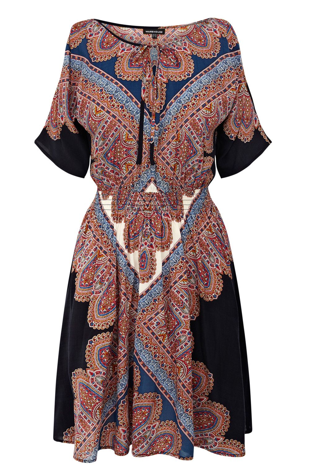 Arizona split sleeve dress