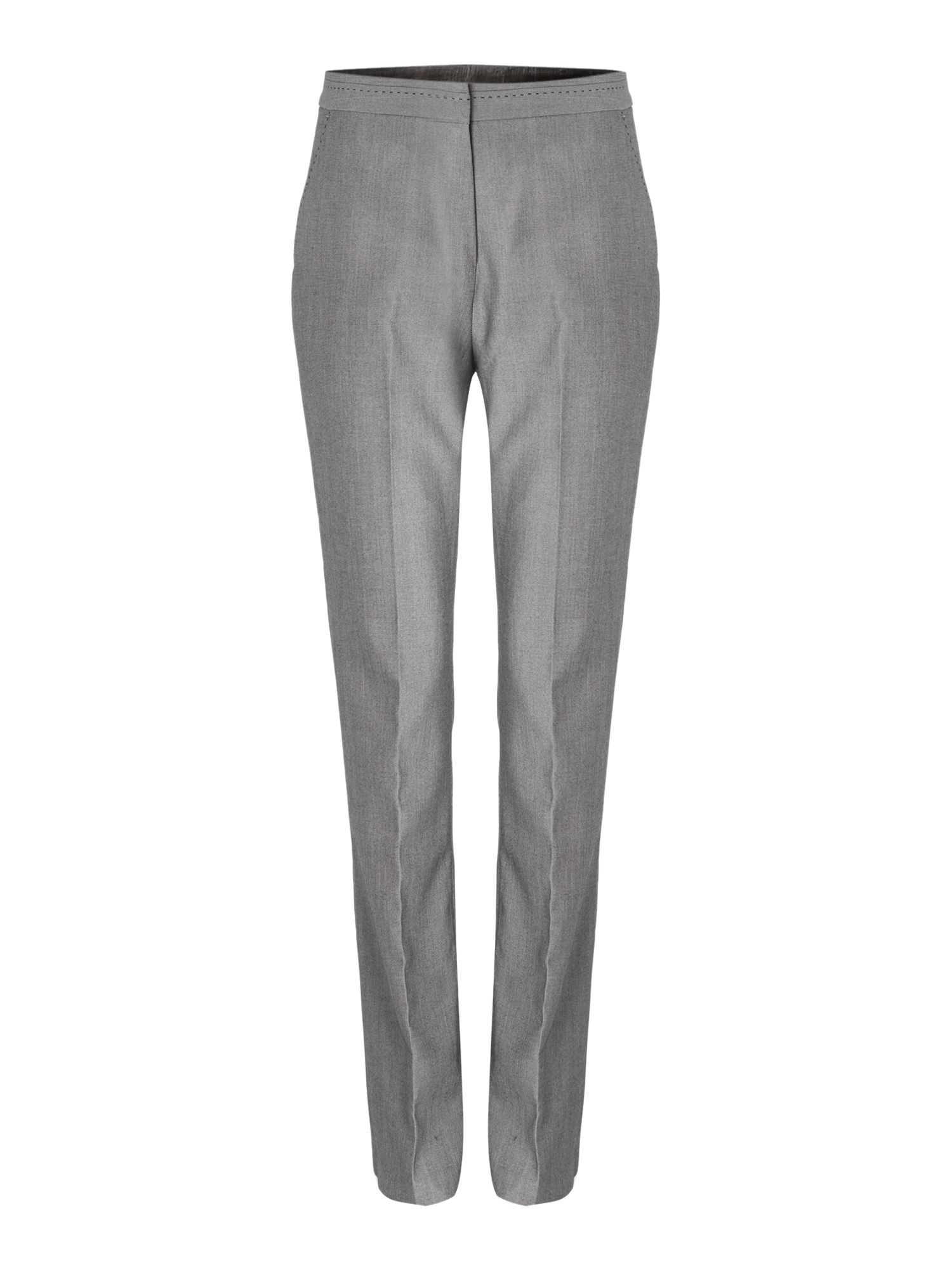 Textured suit trouser