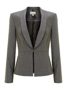 Textured suit jacket