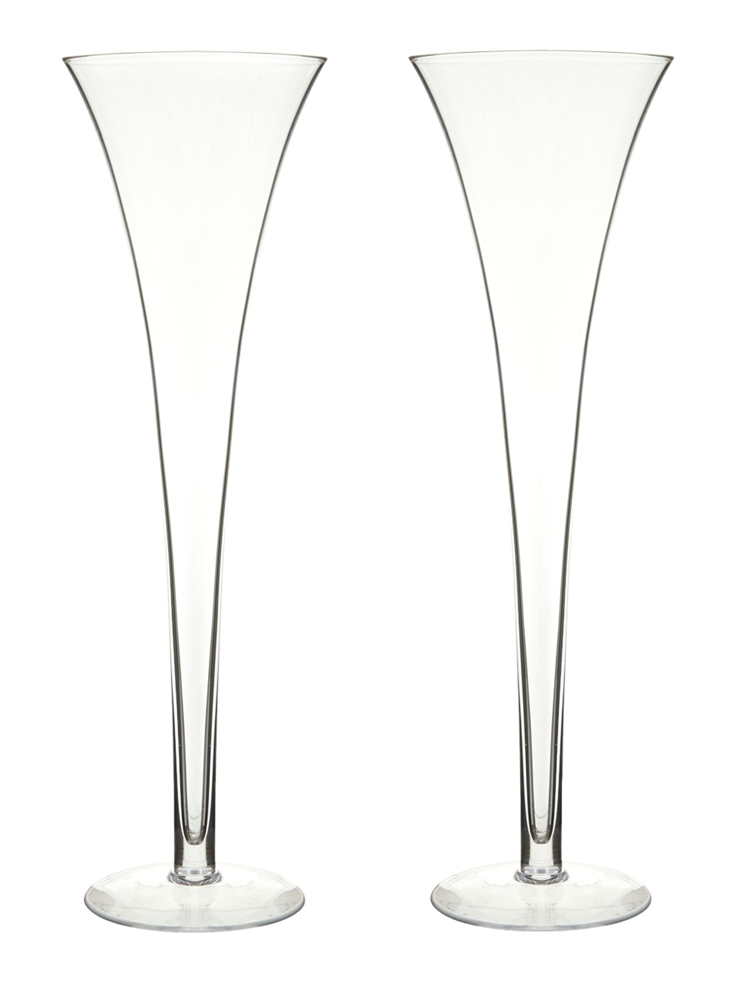 Bar grand hollow stem glasses set of 2