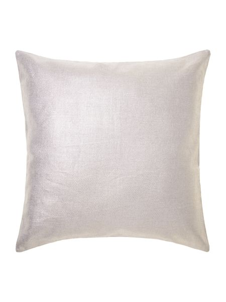 Linea Gold effect linen cushion
