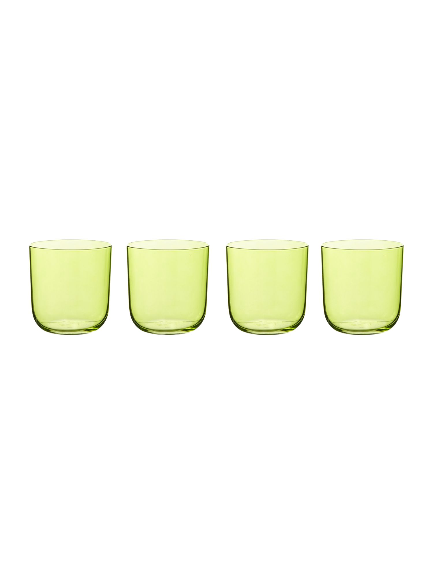 Centro Lime tumbler set of 4