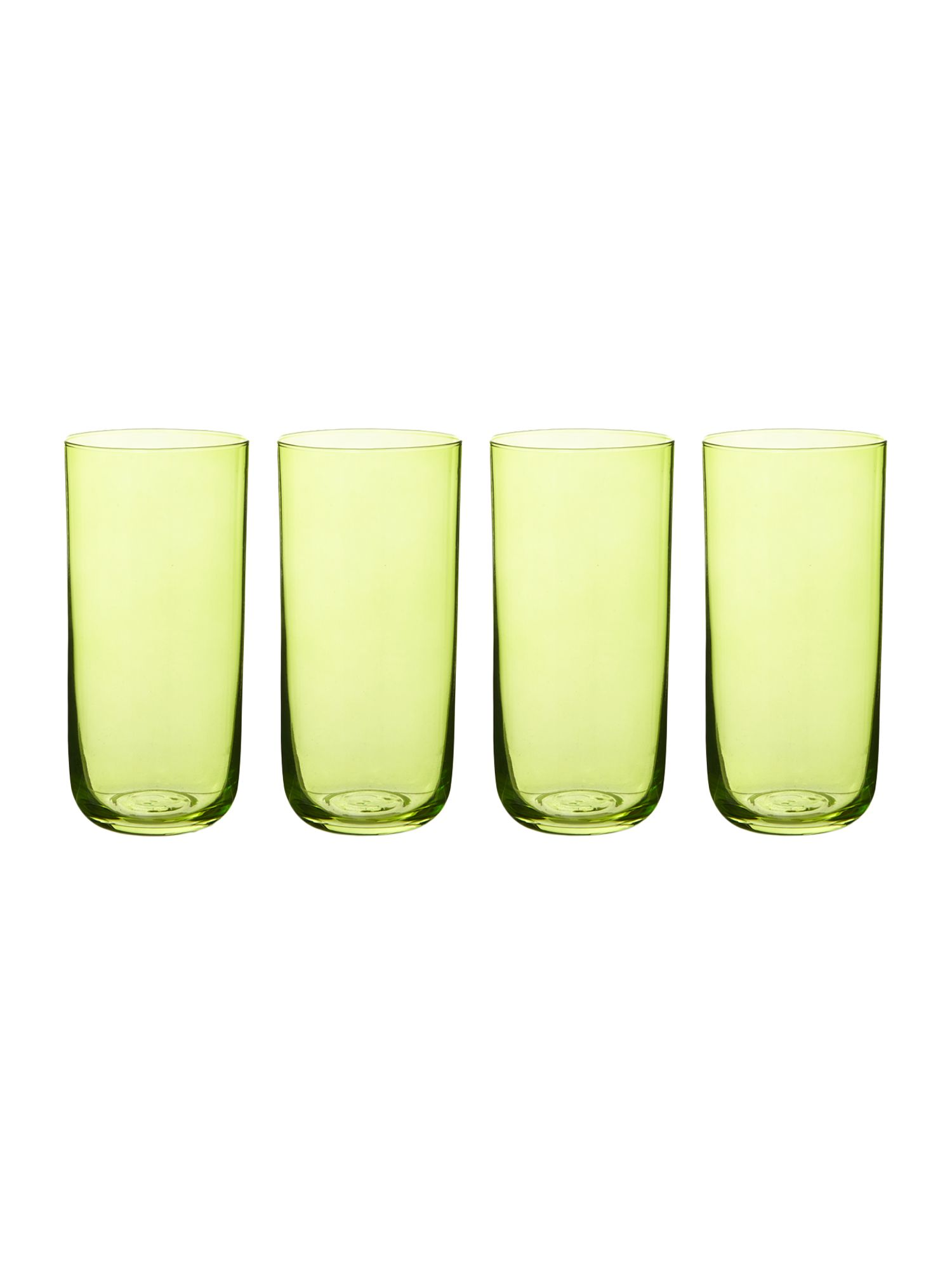 Centro lime highball, set of 4