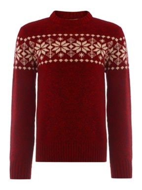 Howick Lapland Red Jumper