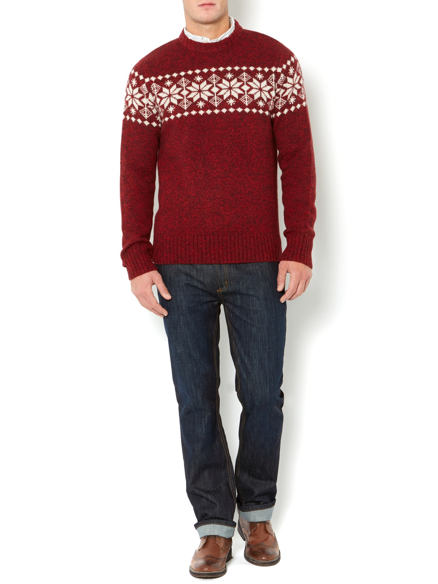 Lapland crew neck lambswool jumper
