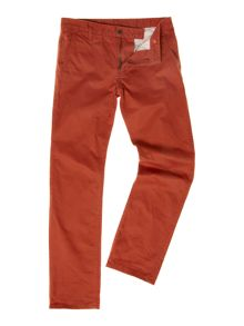 Alpha tapered chino trousers