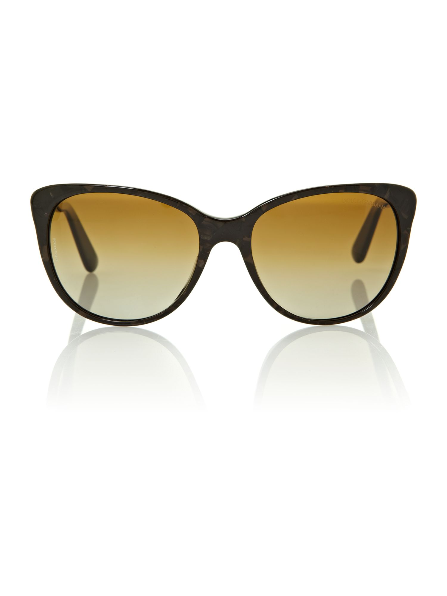 Ladies DG4156 brown sicly sunglasses