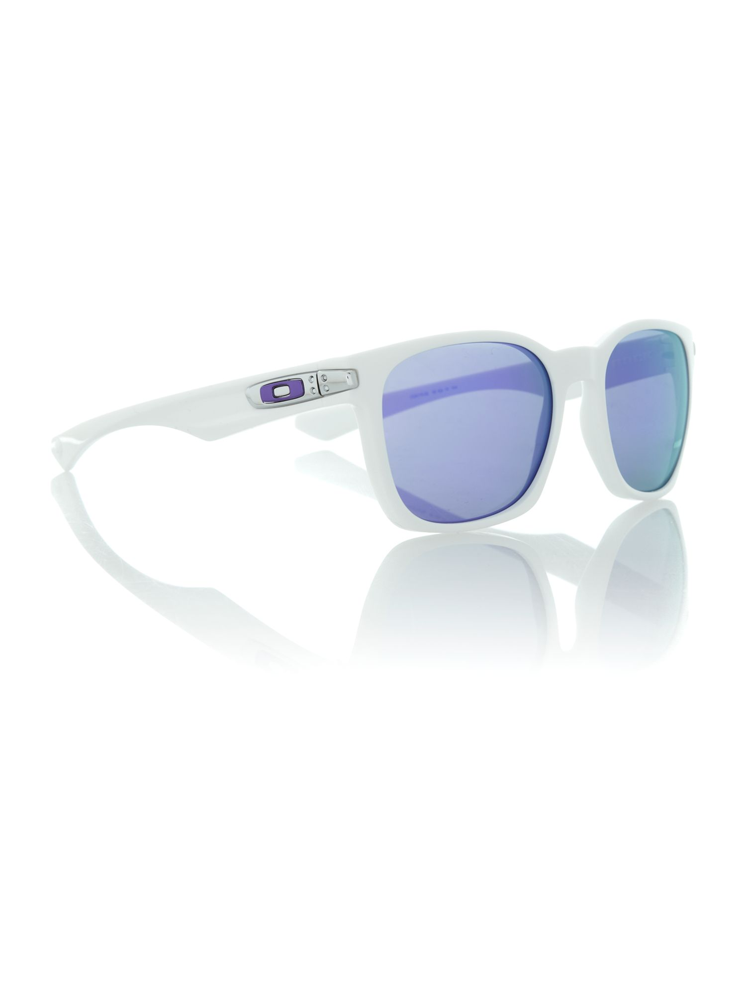 Men`s OO9175 white square sunglasses
