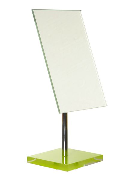 Linea Mirror with square lime base