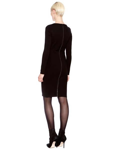 Pied a Terre Knitted jacquard dress