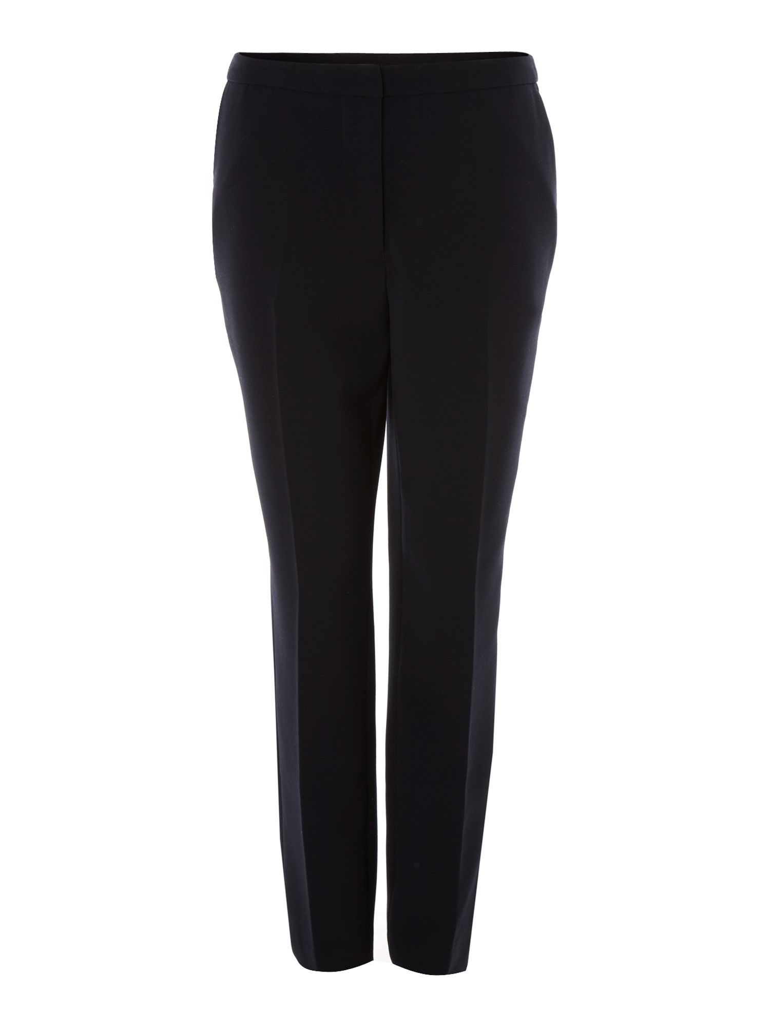 Stretch woven slim leg trousers