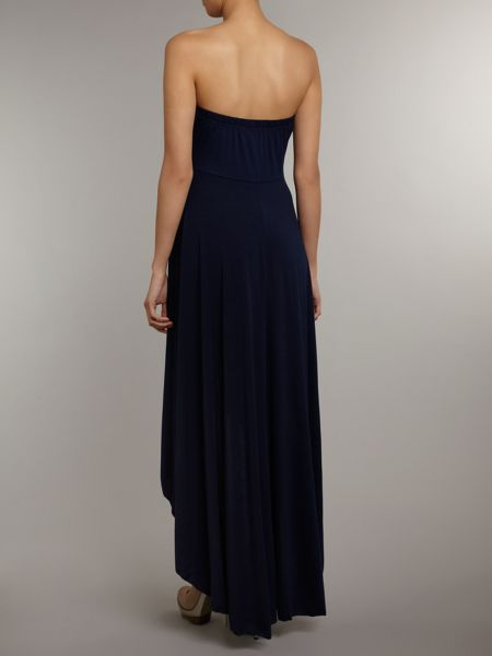 Izabel London Waterfall hem maxi dress