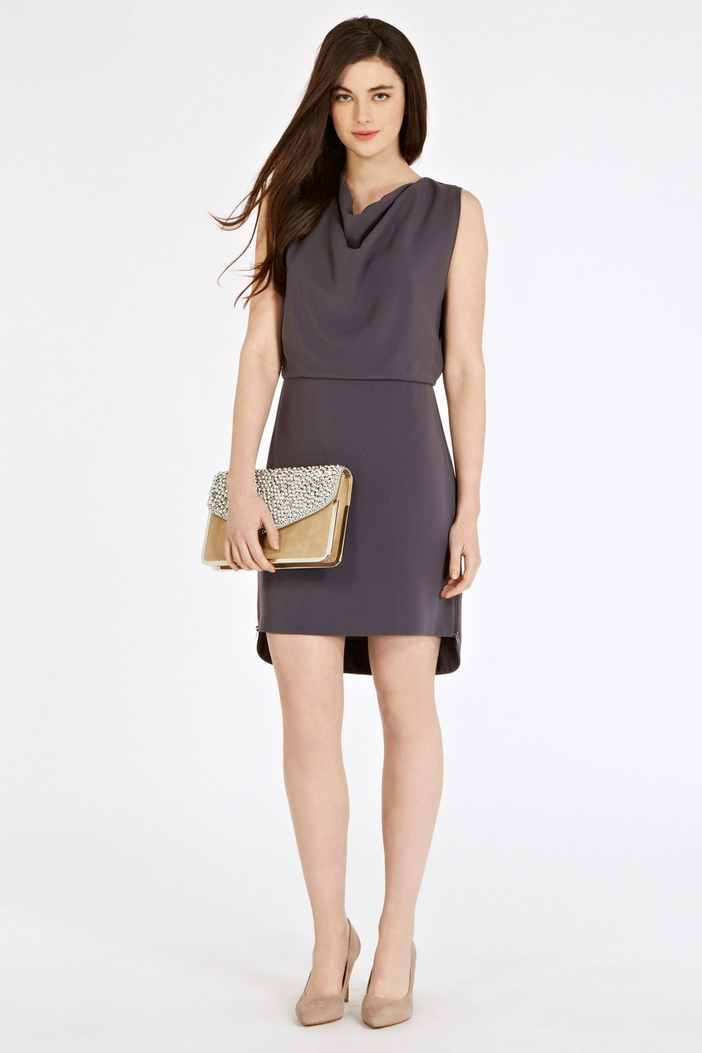 Rubie crepe dress