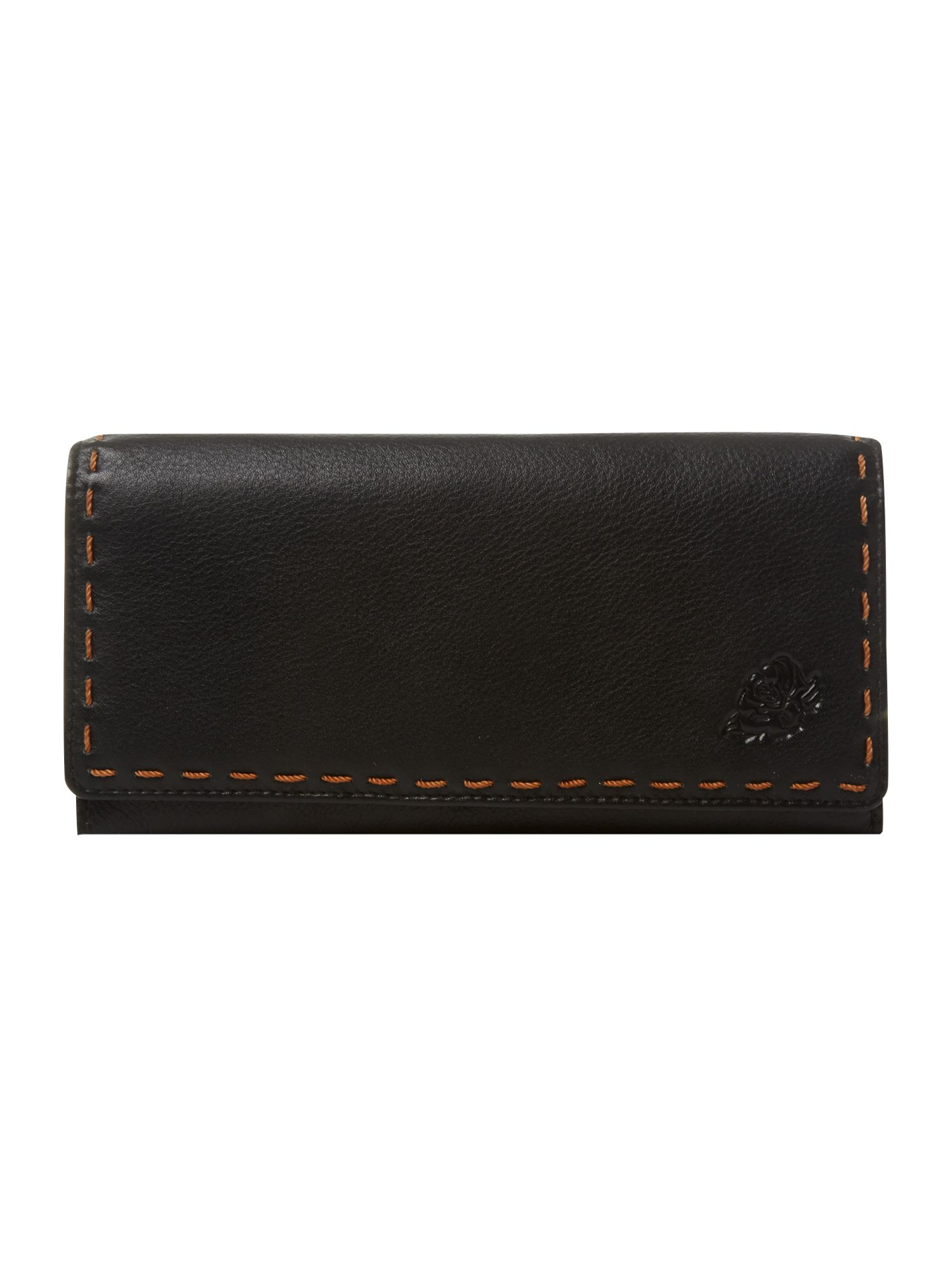 Poppy flapover purse
