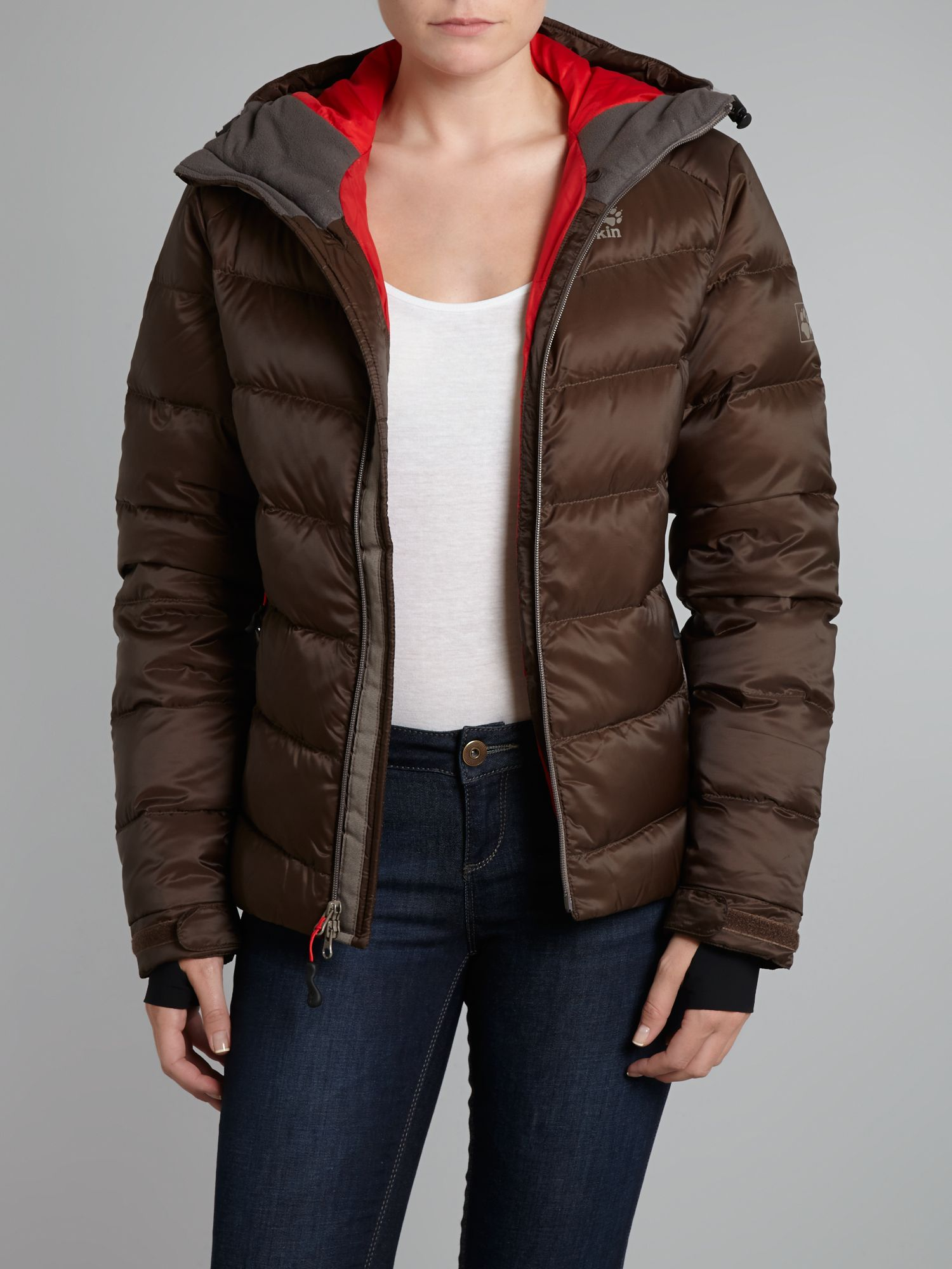 Hooded Svalbard Padded Jacket