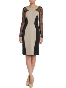 Alice By Temperley Long sleeved Mikiro crew neck dress