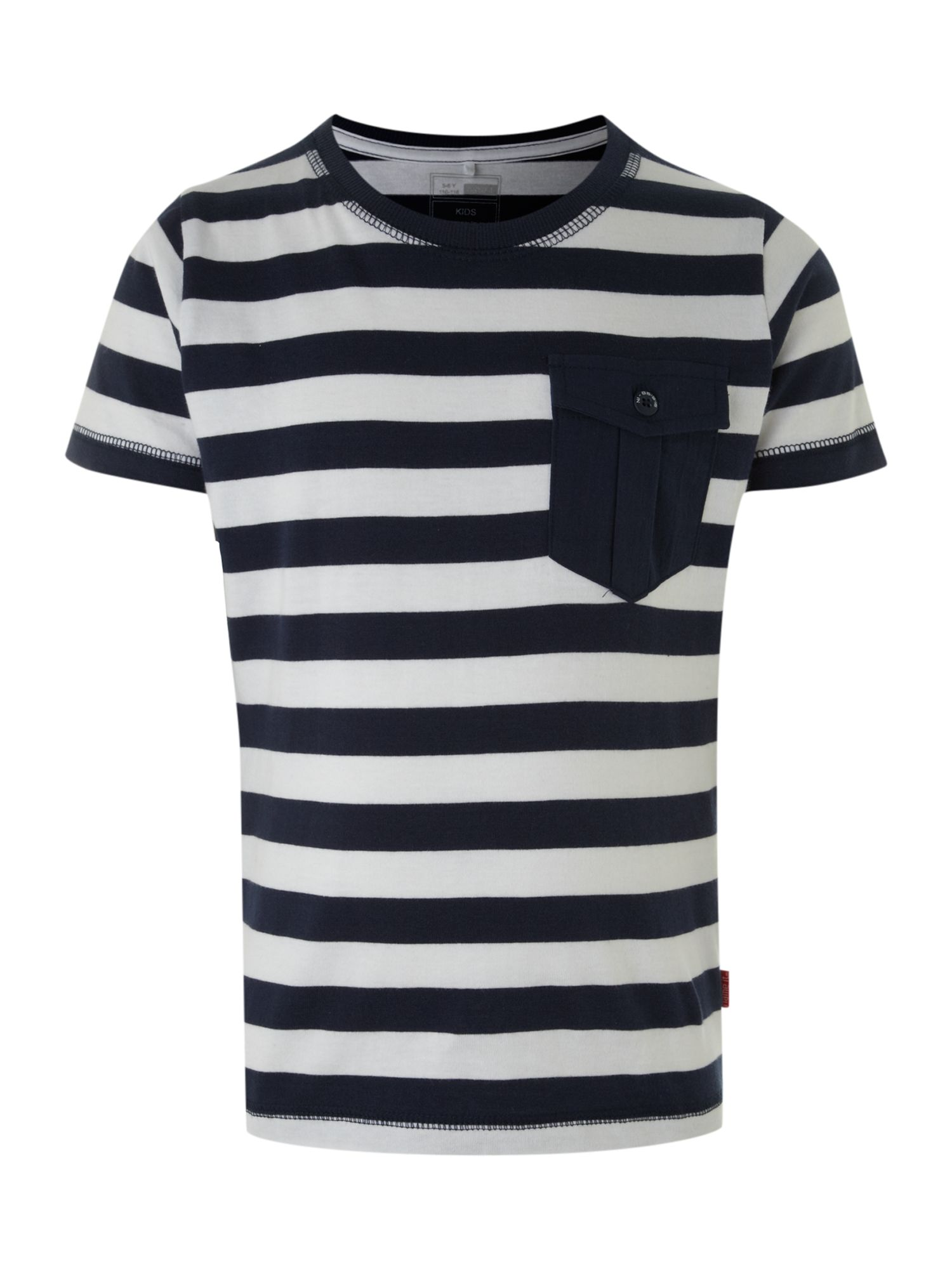 Boy`s stripe t-shirt with pocket