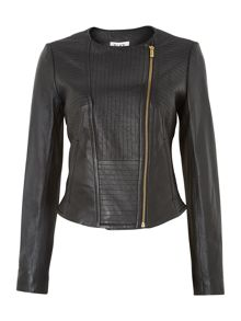 Tatami leather jacket
